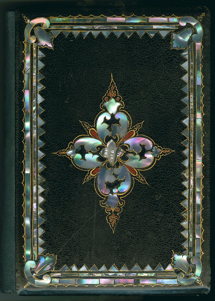 The Iridescent Elegance of Victorian MotherofPearl Book