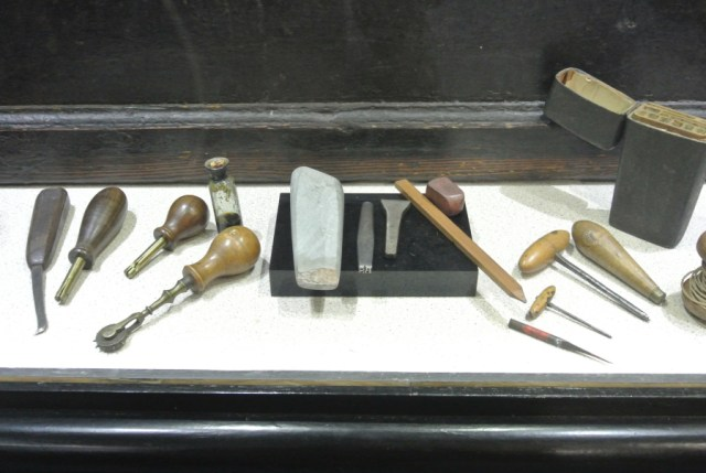 18th-century tools as 21st-century muse