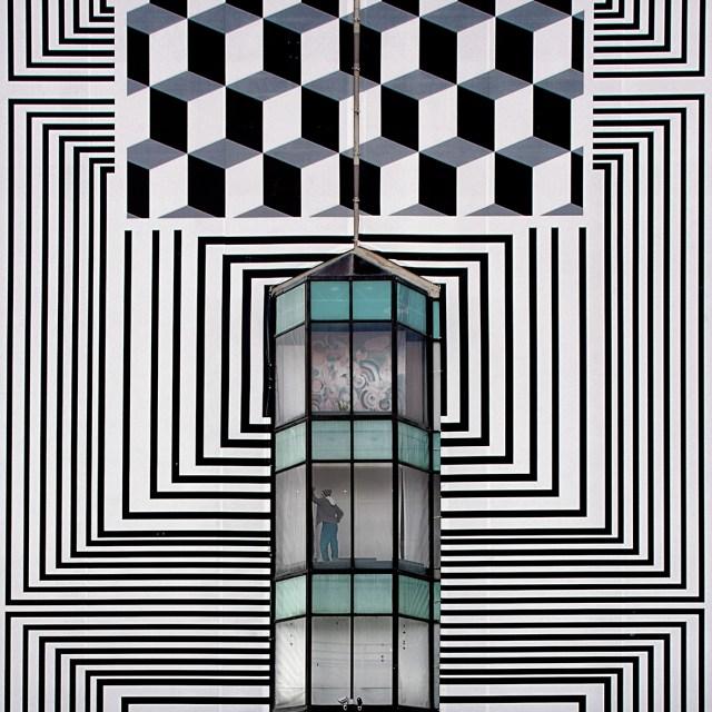 Diving into Escher. © Serge Najjar. All photos courtesy of the artist.