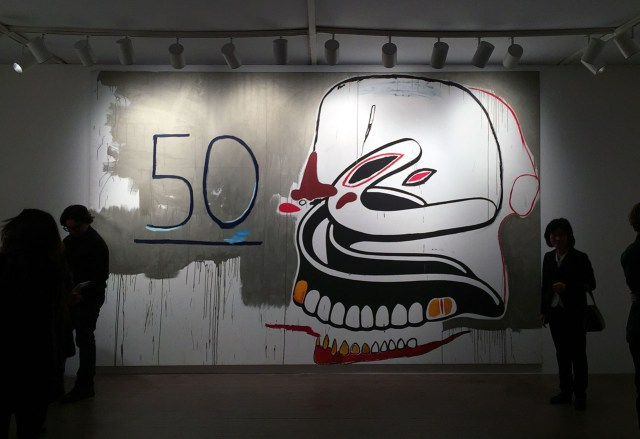 A Warhol/Basquiat Collaborative Work at Van de Weghe Fine Art