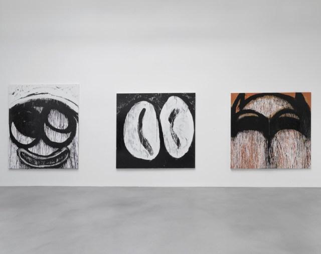 Joyce Pensato, Castaway, Installation View, All photographs courtesy of Petzel Gallery