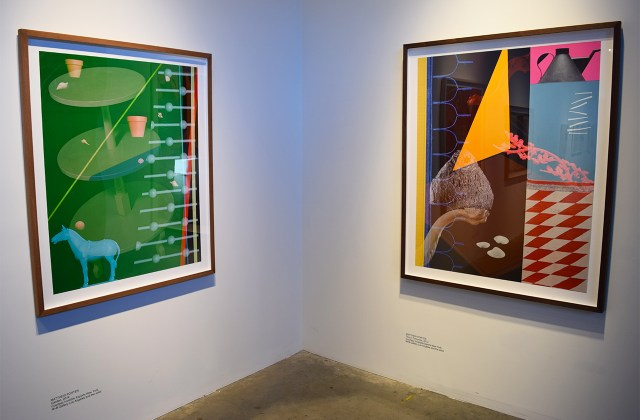 Installation view of works by Matthew Porter in 'Under Construction – New Positions in American Photography' at Pioneer Works