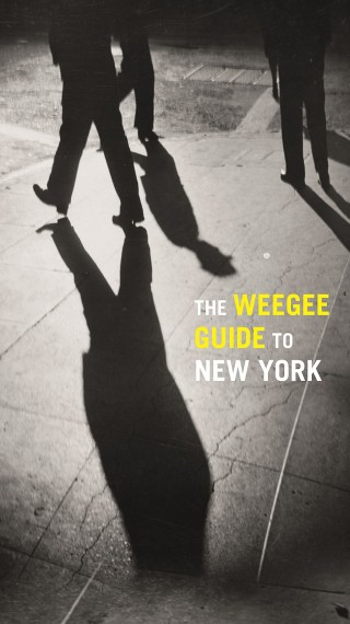 Cover of 'The Weegee Guide to New York' (click to enlarge)