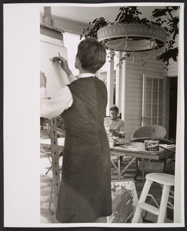 Recurring Waves Of Arrival Elaine De Kooning Portraits Loft Dwellers Jfk