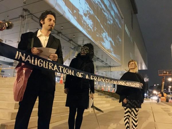 Whitney Museum Guerrilla Girls