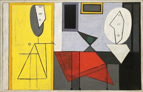 Pablo Picasso Studio Painting