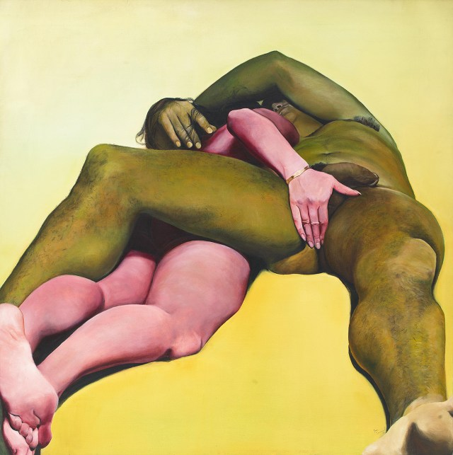 Erotic Yellow, 1973 Courtesy Alexander Gray Associates, New York ©2015 Joan Semmel / Artists Rights Society (ARS), New York