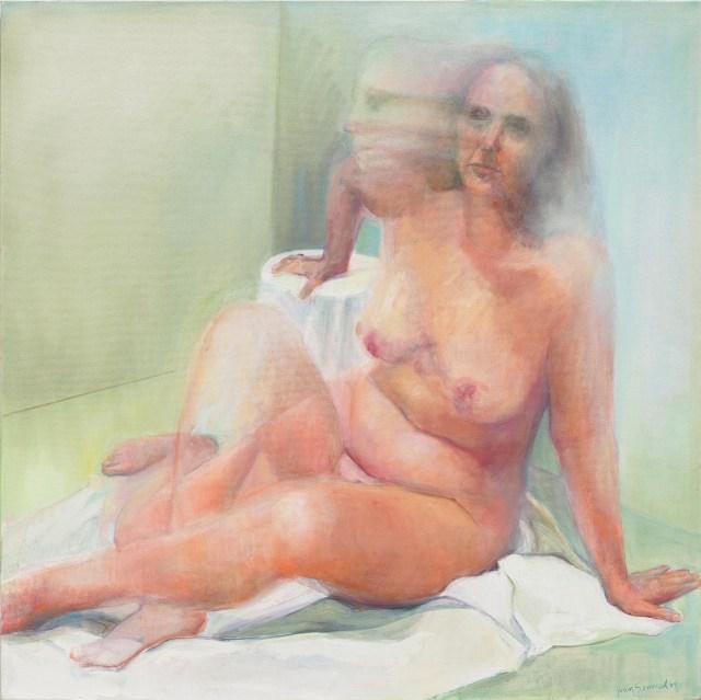 Ghost, 2009 Courtesy Alexander Gray Associates, New York ©2015 Joan Semmel / Artists Rights Society (ARS), New York
