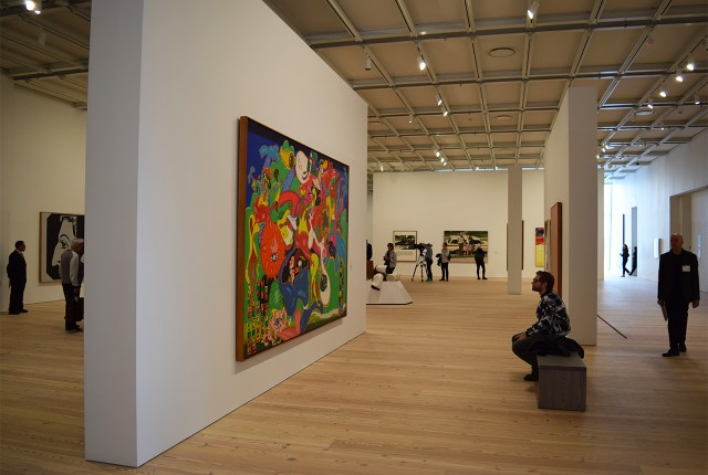 The wide open floorplans allow for a variety of gallery and wall configurations