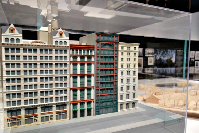 Model of the Scholastic Building in the Soho Cast Iron Historic District