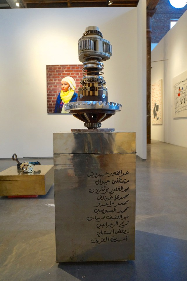Work by Eric van Hove and Younes Baba-Ali at VOICE Gallery