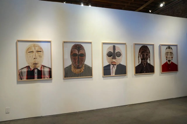 Work by Edson Chagas at A Palazzo Gallery's booth