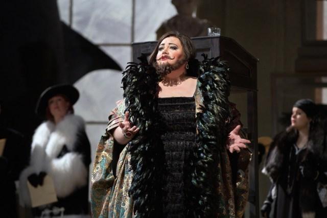 "Stephanie Blythe as Baba the Turk in Stravinksky's ""The Rake's Progress"""