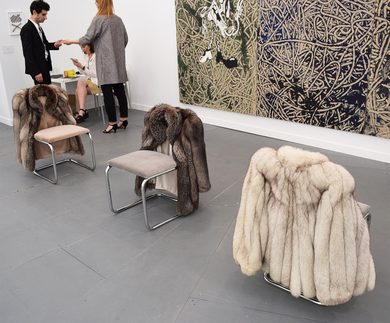 Look Before You Sit At Frieze New York the Seats Are All