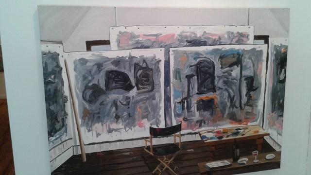 "Richard Bosman, ""Guston's Studio 2 (2010)"