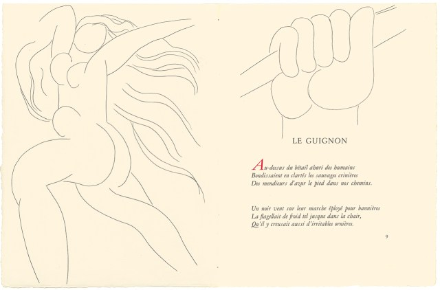 Henri Matisse's illustration for 