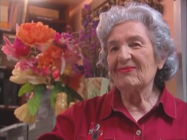 Miriam Schapiro (screenshot via YouTube)