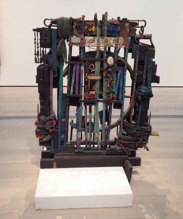 "Noah Purifoy, ""Untitled"" (1992), assemblage sculpture"