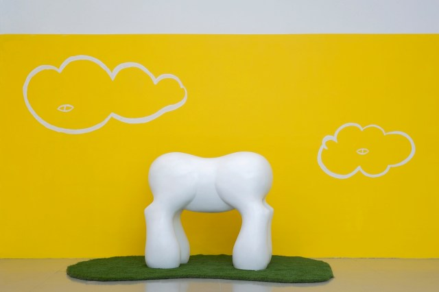 Mark Mothersbaugh My Little Pony, 2013 Ceramics, 53 x 59 x 33 in. Courtesy the artist