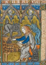 European Demon Medieval Art