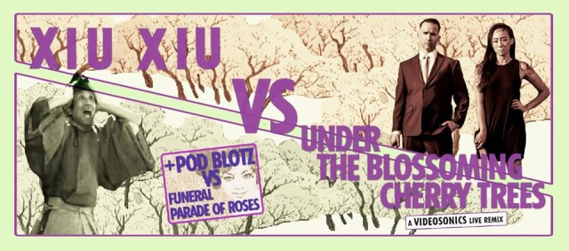 Xiu Xiu vs. Under the Blossoming Cherry Trees (via facebook)
