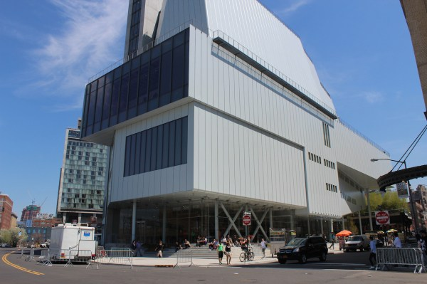 Changing Faades Of Whitney Museum