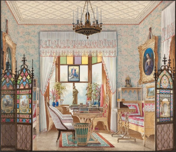 Domestic Interior Paintings Show 1 Lived In