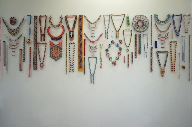 Beaded jewelry from Greenland