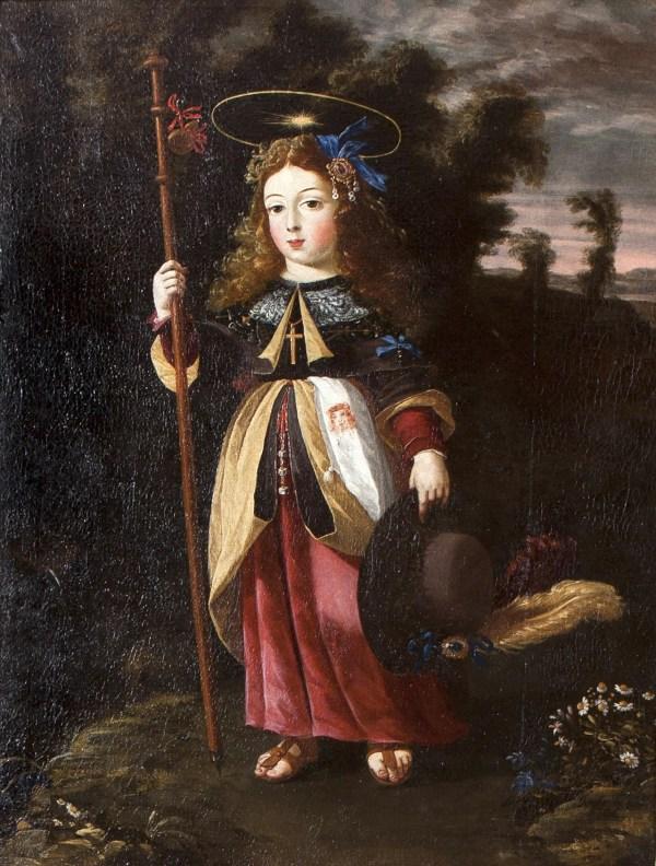 Jesus Lady Female Baroque Artist