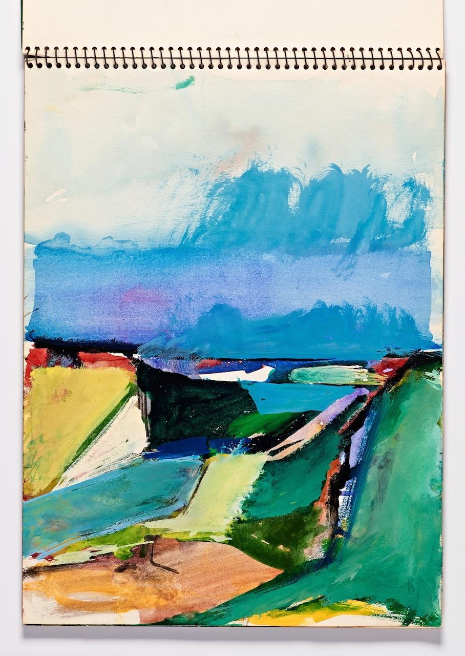 A Lifetime of Sketchbooks from Postwar Painter Richard Diebenkorn