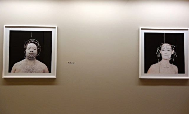 'Meryl McMaster: Second Self' installation view (photo by the author for Hyperallergic)