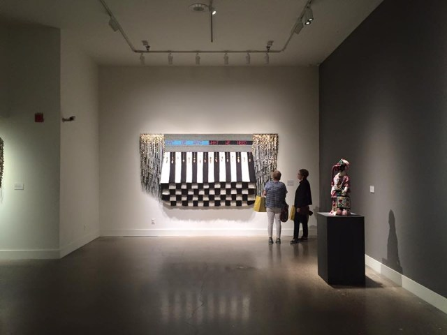 "Installation view, ""An Evening Redness in the West"". Image courtesy of the author"