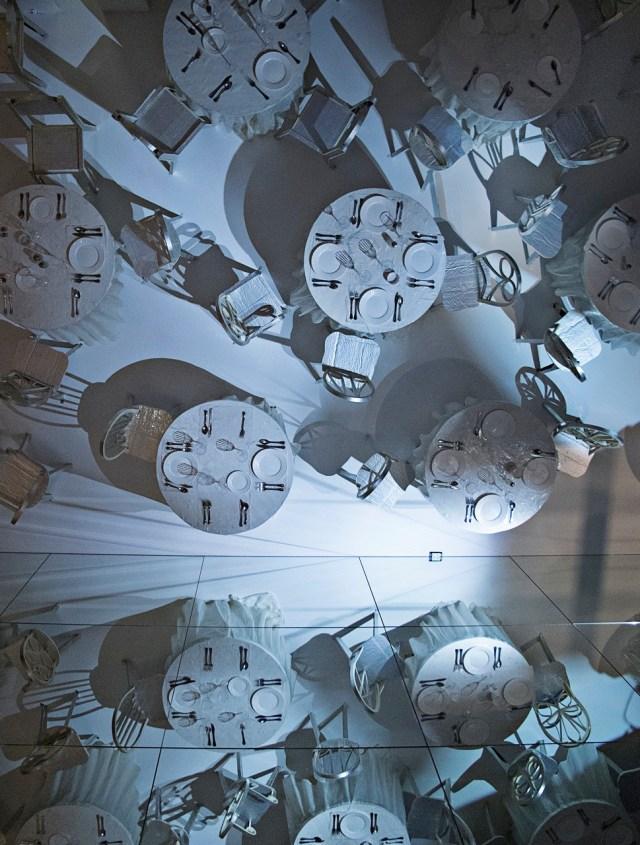 "Samara Golden, ""A Fall of Corners"" (2015) installation view."