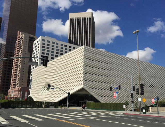 The Broad Museum (all photos by the author for Hyperallergic)