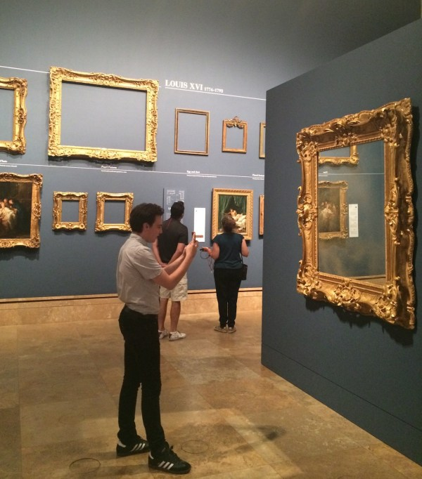 French History Of Gold Gilded And Fancy Frames