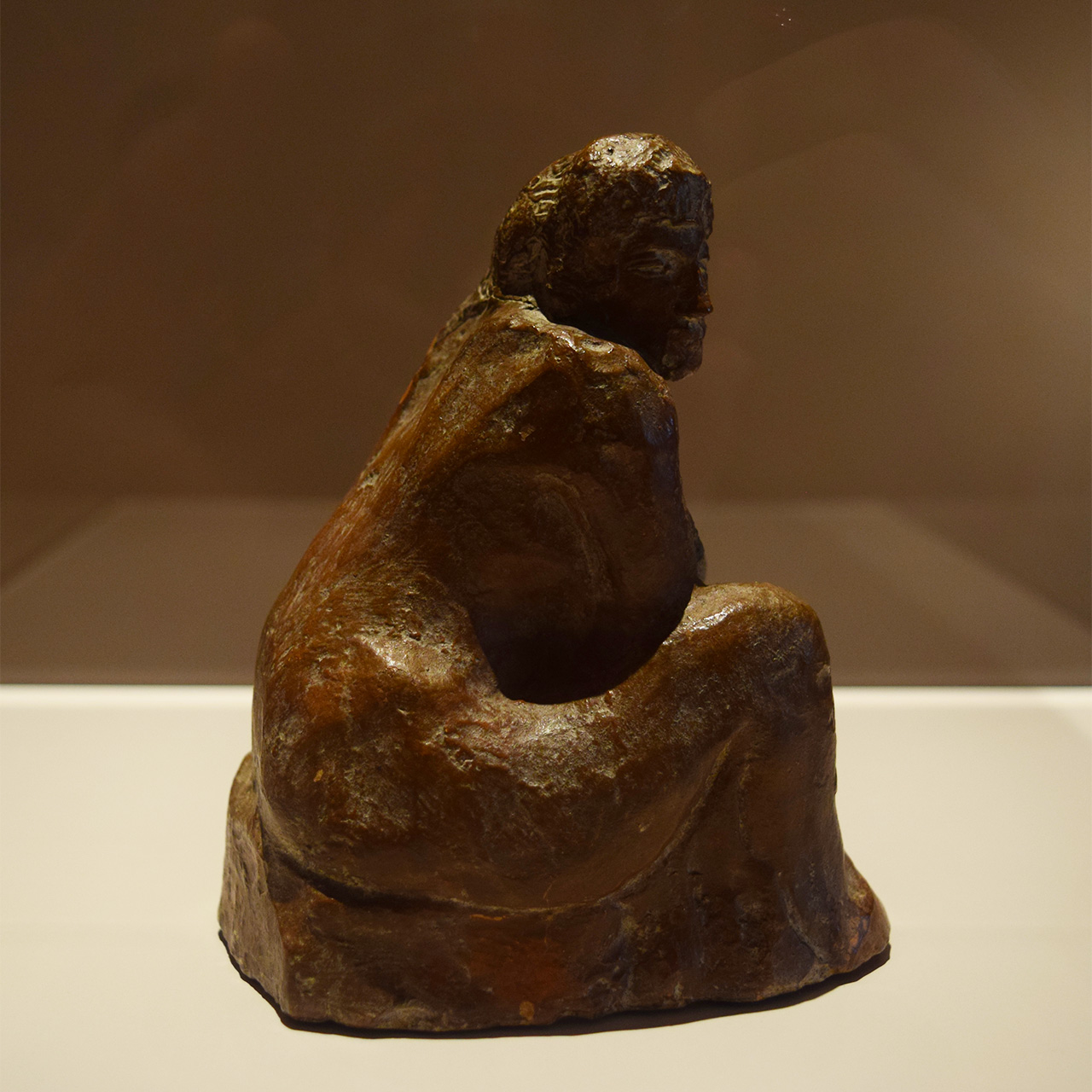 "Pablo Picasso's ""Seated Woman"" (1902) is the earliest work in 'Picasso Sculpture'"