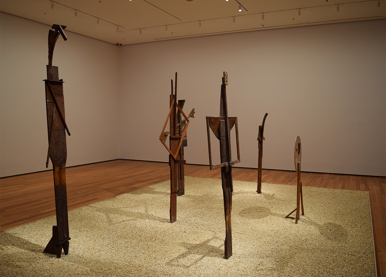 Installation view of 'Picasso Sculpture' at the Museum of Modern Art
