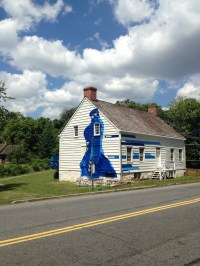 Painting Murals on a 250-Year-Old Farmhouse to Preserve It