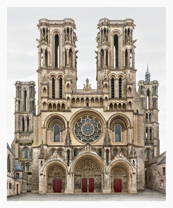 Seamless Digital Collages Capture Europe' Church Faades