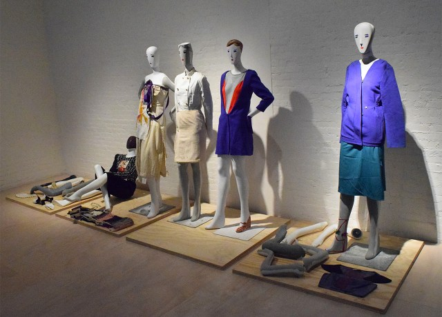 Clothing and accessory designs by Susan Cianciolo