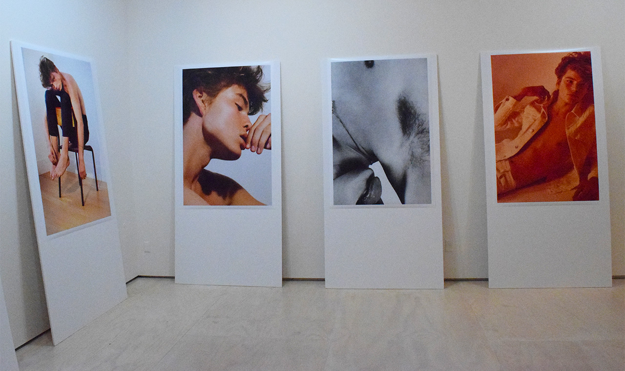 "Works from Collier Schorr's ""Jordan Installation"""