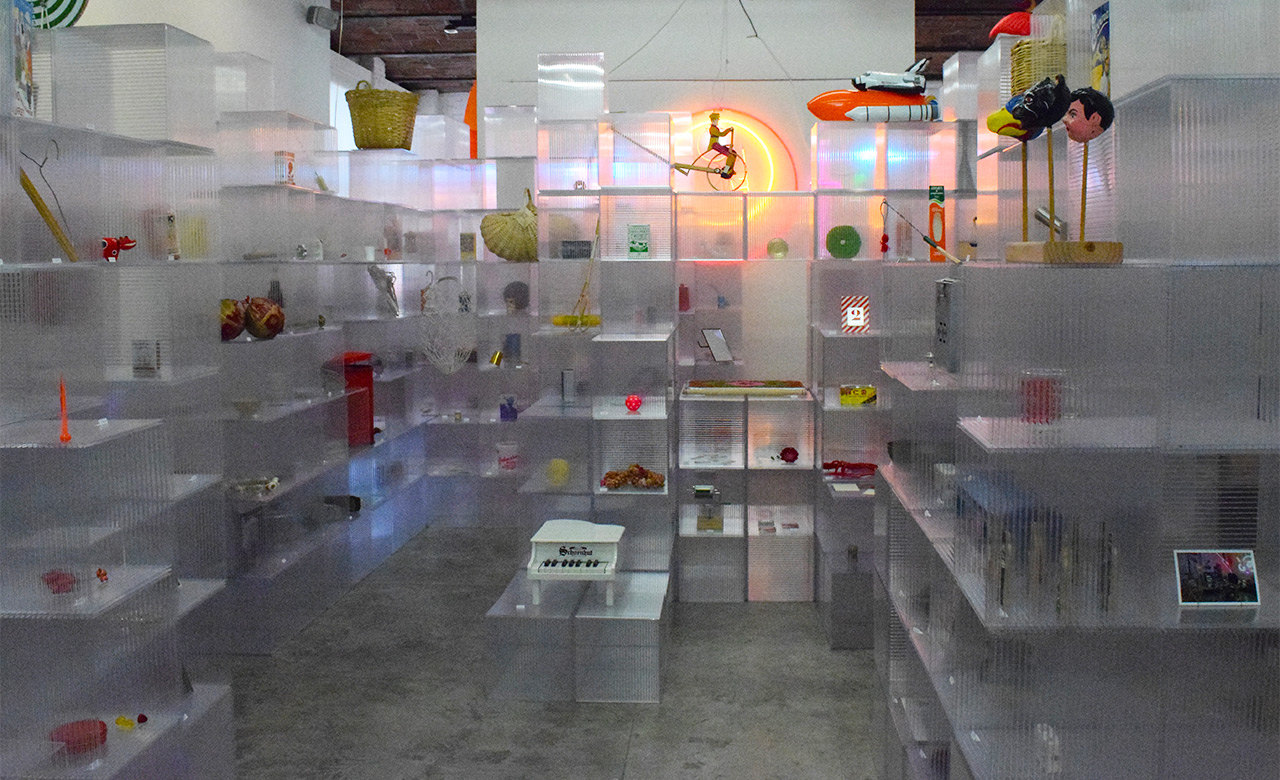 The art collective KIOSK's archive installation (2005–15) takes up an entire gallery on MoMA PS1's second floor.