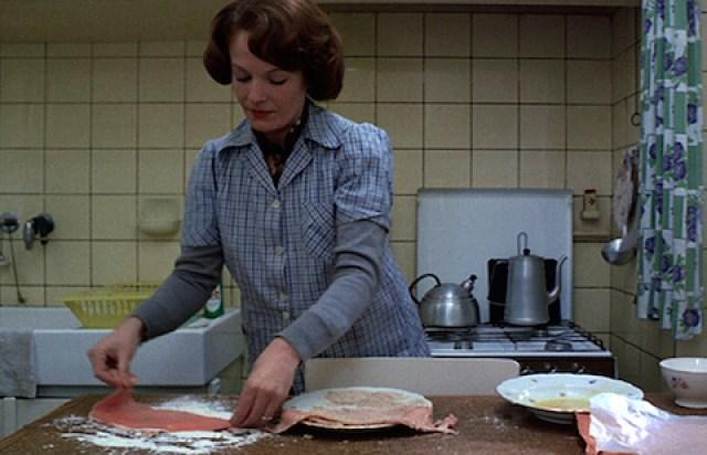 "Chantal Akerman, ""Jeanne Dielman, 23 Quai du Commerce, 1080 Bruxelles (1975) (via cinefamily.org)"