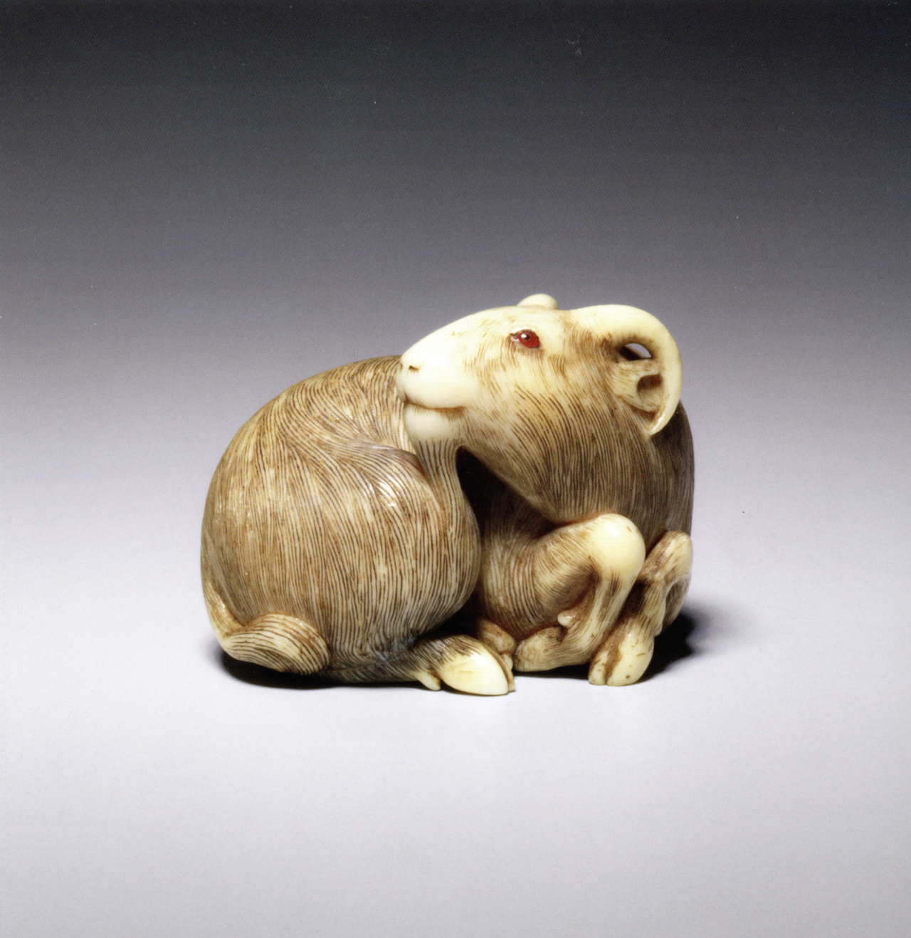 The Ghosts Mermaids and Beautiful Rats of Japans Tiny Netsuke Carvings