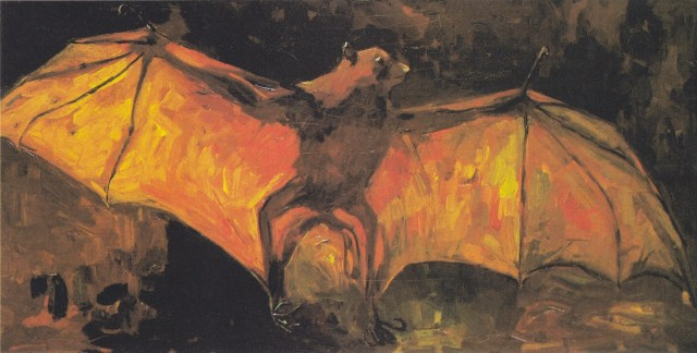 "Vincent van Gogh, ""The bat"" (1886) (Van Gogh Museum, Amsterdam, via Wikimedia Commons)"