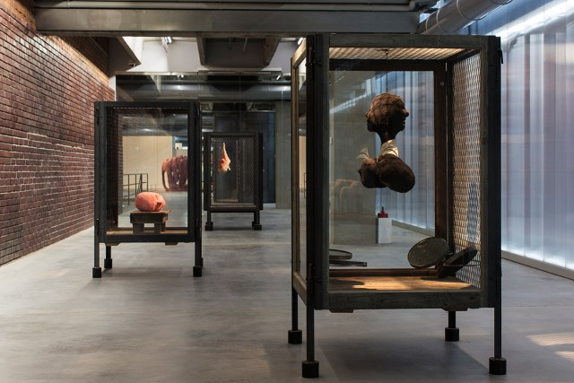 Installation view, 'Louise Bourgeois. Structures of Existence: Cells' at Garage (photo by Egor Slizyak, © Garage Museum of Contemporary Art)