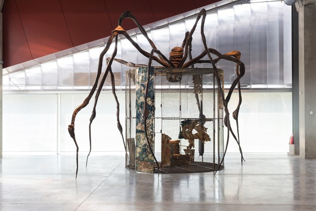 """Louise Bourgeois, """"Spider"""" (1997) (photo by Egor Slizyak, © Garage Museum of Contemporary Art)"""