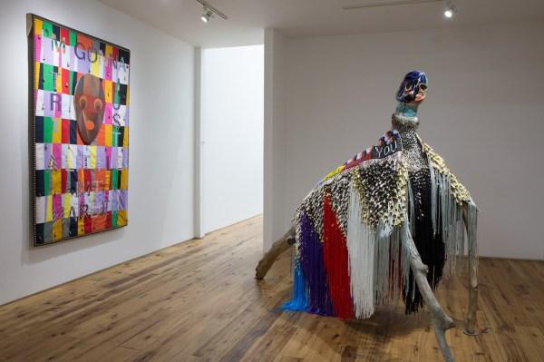 Jeffrey Gibson Artist Sculptures