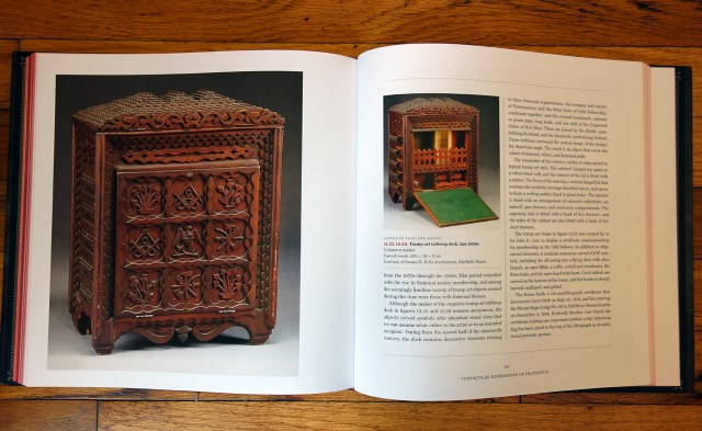 Pages from 'As Above So Below' (photo of the book for Hyperallergic)