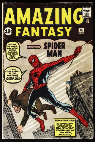 'Amazing Fantasy' (No. 15, September 1962). Published by Atlas Magazines, Inc. (courtesy Serial and Government Publications Division, Library of Congress, Washington D.C.)